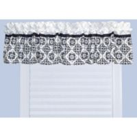 Trend Labs® Versailles Window Valance in Black/White