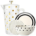 kate spade new york Raise a Glass Melamine Dinnerware and Acrylic Drinkware
