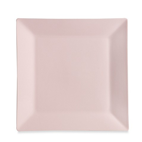 Real Simple® Square Dinner Plate in Tea Rose  sc 1 st  Bed Bath \u0026 Beyond & Real Simple® Square Dinner Plate in Tea Rose - Bed Bath \u0026 Beyond