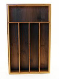 BergHOFF® Cook N Co 5-Slot Bamboo Flatware Organizer