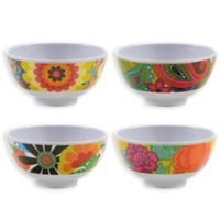 French Bull Floral Mini Bowl Set in Multi (Set of 4)