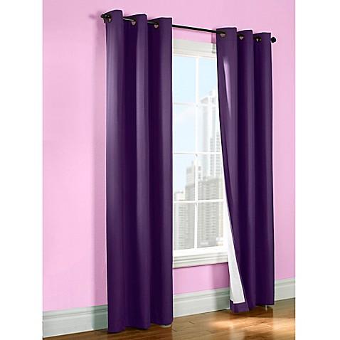 Purple Room Darkening Curtains Insulated Room Darkening Curt
