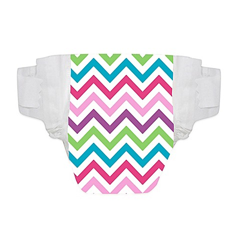 Honest Diapers with Anchor Pattern