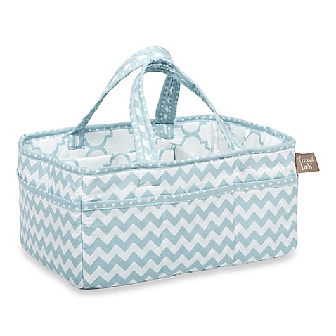 Trend Lab 174 Blue Sky Diaper Caddy Buybuy Baby
