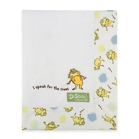 pdf dr seuss lorax books trend lab dr seuss the lorax border receiving blanket bed