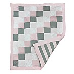 Burt's Bees Baby® Tiles Bee 100% Organic Cotton Quilt in Blossom