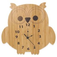Trend Lab® Northwoods Owl Wall Clock