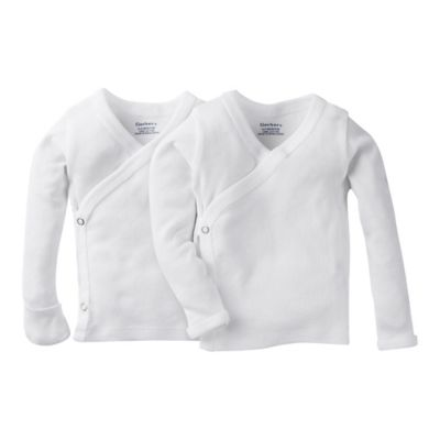 Buy Carter S 174 5 Pack Newborn White Side Snap Undershirts