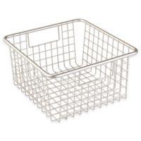 InterDesign® Forma™ Cabinet Binz™ 10.25-Inch x 9.25-Inch x 5-Inch Metal Bin