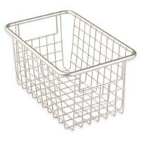 InterDesign® Forma™ Cabinet Binz™ 10.25-Inch x 6.25-Inch x 5-Inch Metal Bin