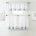 Waterford® Cassia Window Curtain Tier Pair and Valance