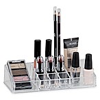 Home Basics® Medium Makeup Organizer in Clear
