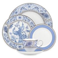 Marchesa by Lenox® Couture Sapphire Plume 5-Piece Place Setting