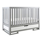 Karla Dubois® OSLO 3-in-1 Convertible Crib in Moon Grey/Pure White