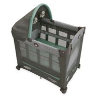 Graco® Travel Lite® Crib with Stages in Green/Grey