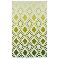 Kaleen Glam Ombre Diamonds 2-Foot x 3-Foot Accent Rug in Green
