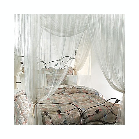 Majesty Ivory Large Bed Canopy Bed Bath Amp Beyond