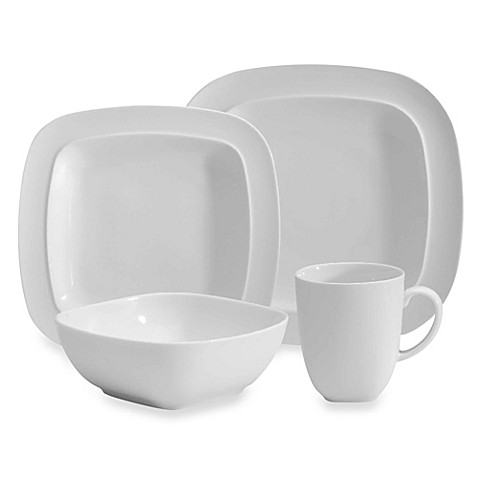 Denby Square Dinnerware in White  sc 1 st  Bed Bath \u0026 Beyond & Denby Square Dinnerware in White - Bed Bath \u0026 Beyond