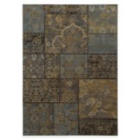 Oriental Weavers Heritage Geometric 9-Foot 10-Inch x 12-Foot 10-Inch Area Rug in Charcoal