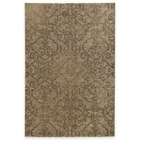Oriental Weavers Heritage Tribal Geometric 9-Foot 10-Inch x 12-Foot 10-Inch Rug in Beige