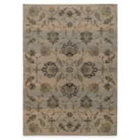 Oriental Weavers Heritage Traditional Floral 9-Foot 10-Inch x 12-10 Inch Area Rug in Ivory