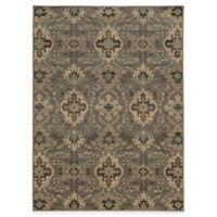 Oriental Weavers Heritage 5-Foot 3-Inch x 7-Foot 6-Inch Rug in Blue