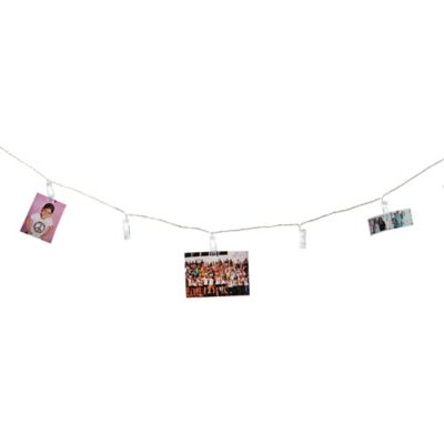 Clothespins 16-Led String Lights - www.BedBathandBeyond.ca