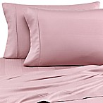 Eucalyptus Origins™ Tencel® Lyocell California King Sheet Set in Mauve Stripe