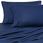Eucalyptus Origins™ Tencel® Lyocell King Sheet Set in Navy Stripe