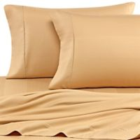 Eucalyptus Origins™ Tencel® Lyocell King Sheet Set in Honey Stripe
