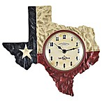 FirsTime® Texas Flag Wall Clock