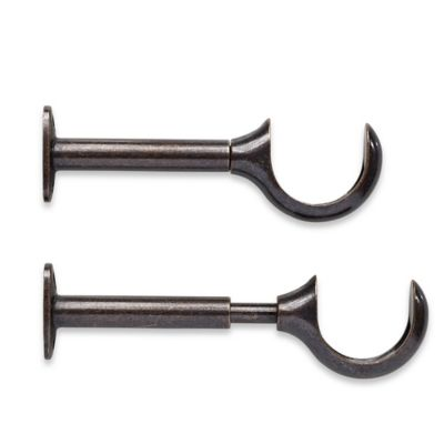 Curtains Ideas curtain hanger hooks : Buy Curtain Rod Brackets from Bed Bath & Beyond