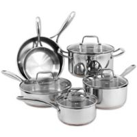 Oneida® Stainless Steel Copper Base 10-Piece Cookware Set
