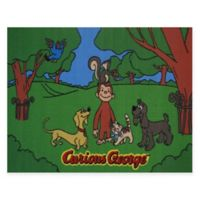 Fun Rugs® Curious George & Friends 3-Foot 3-Inch x 4-Foot 10-Inch Accent Rug