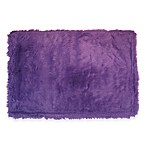 Fun Rugs 2-Foot 7-Inch x 3-Foot 11-Inch Flokati Rug in Purple