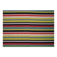 Fun Rugs Stripemania 1-Foot 7-Inch x 2-Foot 5-Inch Accent Rug