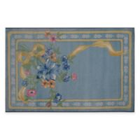 Fun Rugs Flower Ribbon 3-Foot 3-Inch x 4-Foot 10-Inch Area Rug