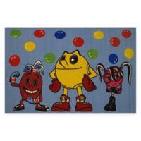 Fun Rugs® Pacman 4-Foot 10-Inch x 3-Foot 3-Inch Area Rug