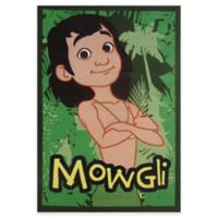 "Fun Rugs® Jungle Book ""Mowgli"" 4-Foot 10-Inch x 3-Foot 3-Inch Area Rug"