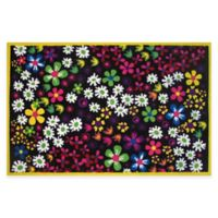 Fun Rugs® Floral 4-Foot 10-Inch x 3-Foot 3-Inch Area Rug