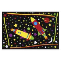 Fun Rugs® Outer Space 4-Foot 10-Inch x 3-Foot 3-Inch Area Rug