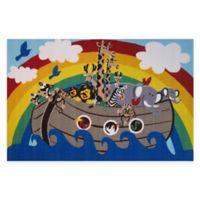 Fun Rugs® Animal Boat 4-Foot 10-Inch x 3-Foot 3-Inch Area Rug