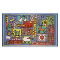 Fun Rugs™ Oh Baby 3-Foot 3-Inch x 4-Foot 10-Inch Rug