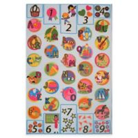 Fun Rugs™ Fun Time Now I Know My ABCs 10-Foot x 6-Foot 8-Inch Rug
