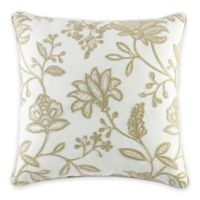 Croscill® Devon Square Throw Pillow in Natural