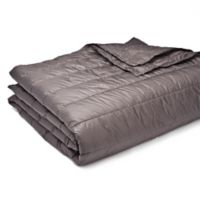 Pouf King Blanket in Pewter
