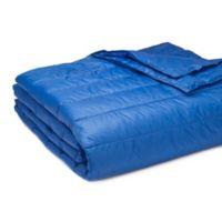 Pouf Full/Queen Blanket in Electric Blue