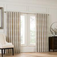 Valeron Lustre Grommet Top 120-Inch Window Curtain Panel in Ivory