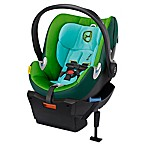 Cybex Platinum Aton Q Infant Car Seat in Green Hawaiian