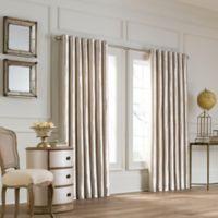 Valeron Lustre Grommet Top 108-Inch Wide x 108-Inch Long Window Curtain Panel in Pearl